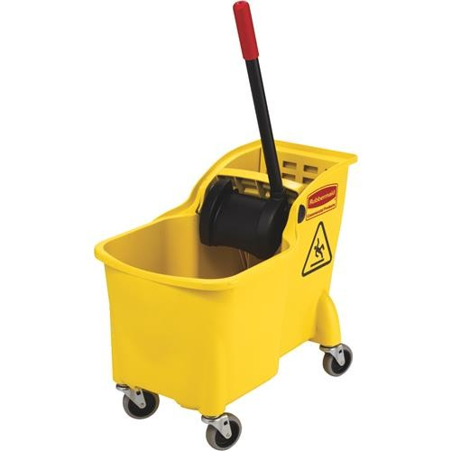 Rubbermaid Comm. Tandem Bucket And Wringer