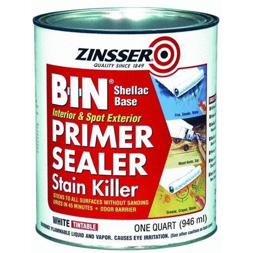 Rust Oleum Zinsser B-I-N Stain Blocking Primer Sealer