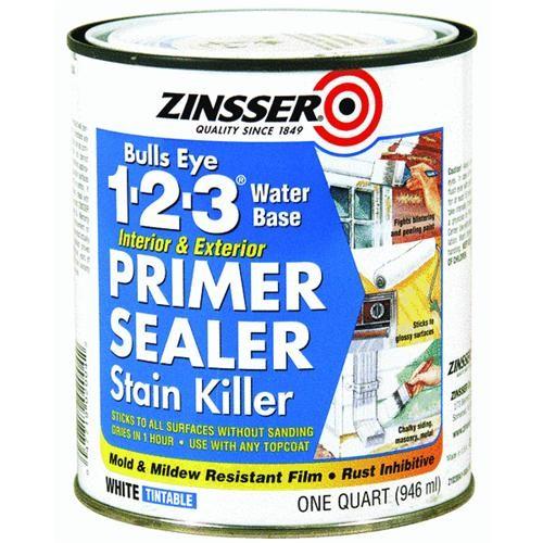 Rust Oleum Zinsser Bulls Eye 1-2-3 Latex Interior/Exterior Stain Blocking Primer