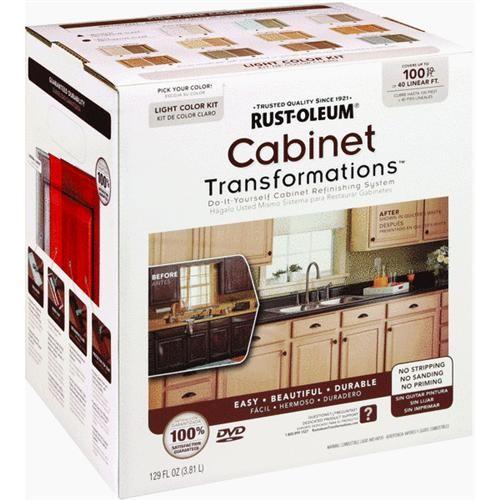 Rust Oleum Cabinet Transformations Cabinet Coating Kit