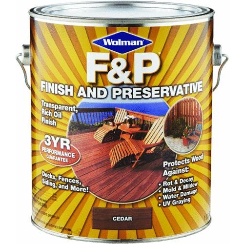 Rust Oleum Wolman F&P Wood Finish And Preservative