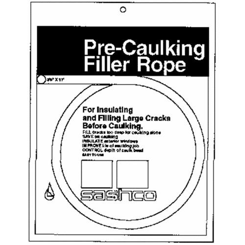 Sashco Sealants Pre-Caulking Filler Rope (Backer Rod)