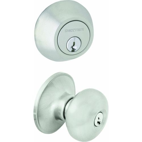 Schlage Lock Dexter Stratus Security Combo Pack