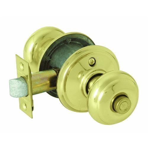 Schlage Lock Georgian Clear Pack Privacy Knob Lockset