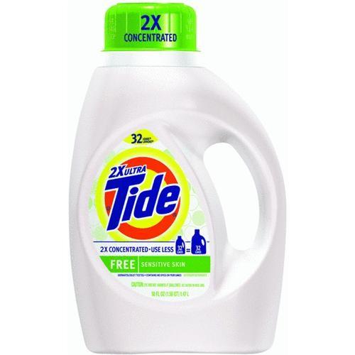 Procter & Gamble Tide Liquid Laundry Detergent Free 32 Load