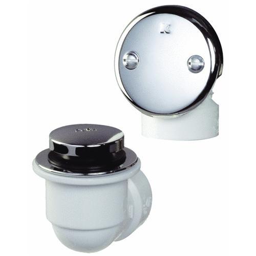Plumb Pak/Keeney Mfg. Schedule 40 - PVC - Bathtub Drain Stopper - Foot Lok Stop