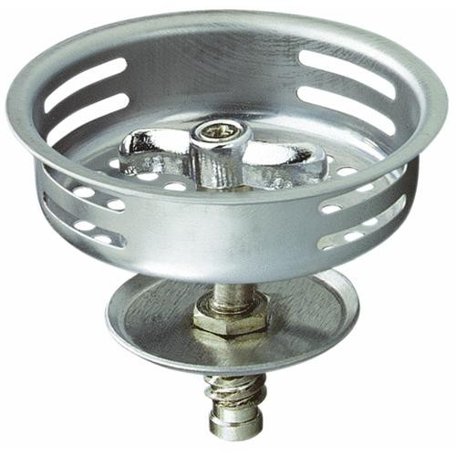 Plumb Pak/Keeney Mfg. Stainless Steel Replacement Basket Strainer Stopper With Threaded Post