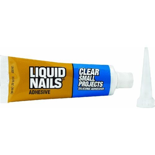 PPG Inc Liquid Nails Liquid Nails Clear Small Projects Multi-Purpose Adhesive