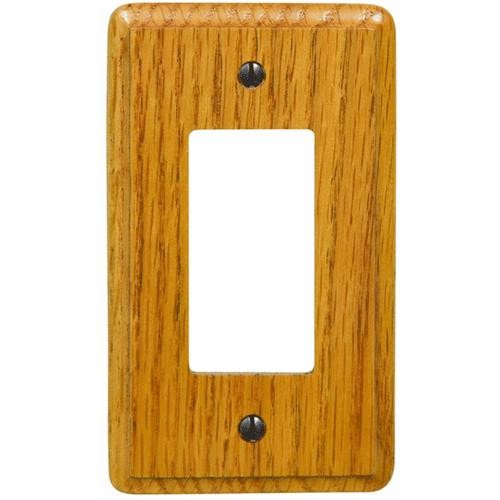 AmerTac Westek Amerelle Wood Rocker Decorator Wall Plate