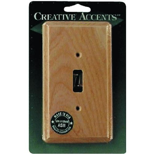 AmerTac Westek Amerelle Wood Switch Wall Plate