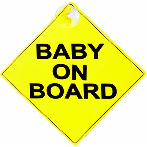 Prime Line Prod. Baby On Board Sign