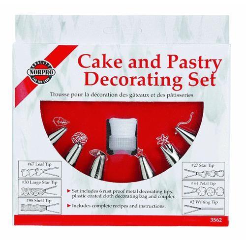 Norpro Pastry Bag Decorating Kit