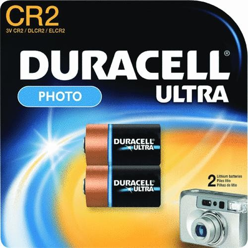 P & G/ Duracell 2-Pack CR2 3V Camera Battery