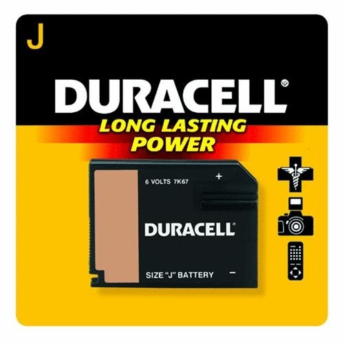 P & G/ Duracell 6V Photo Electronic Battery