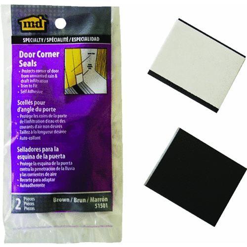 M-D Building Products Door Corner Vinyl-Covered Foam Weatherstrip Tape