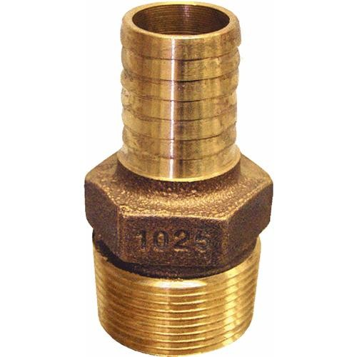 Merrill Mfg. Low Lead Brass Hose Barb Adapter