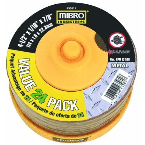 Mibro Mibro 24-Piece Metal Cut-Off Wheel Set