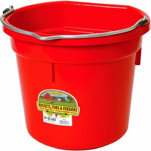 Miller Mfg. Flat Back Bucket