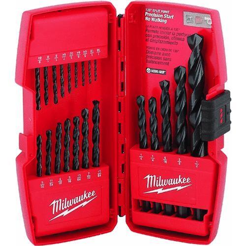Milwaukee Accessory Milwaukee Thunderbolt 21-Piece Black Oxide Drill Bit Set