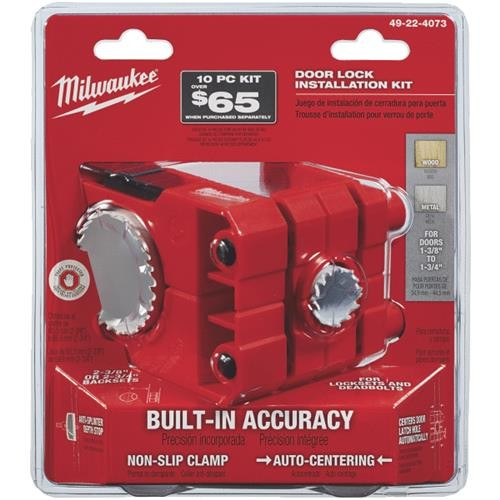 Milwaukee Accessory Milwaukee Door Lock Installation Kit