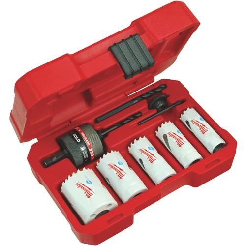 Milwaukee Accessory Milwaukee Ice Hardened 8-Piece General Purpose Hole Saw Set