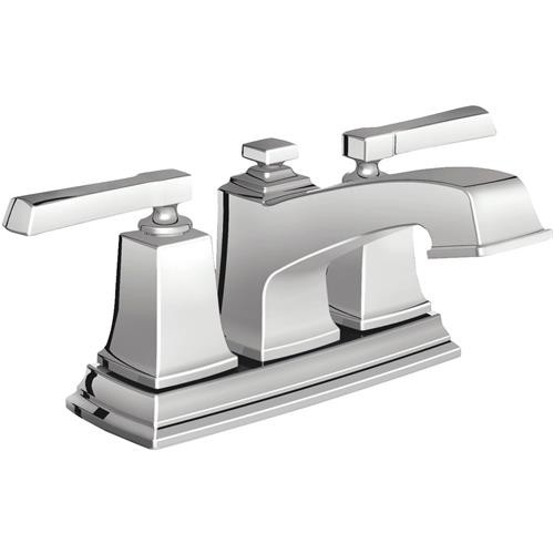 Moen Inc Moen Boardwalk Centerset 2-Handle Bathroom Faucet With Pop-Up