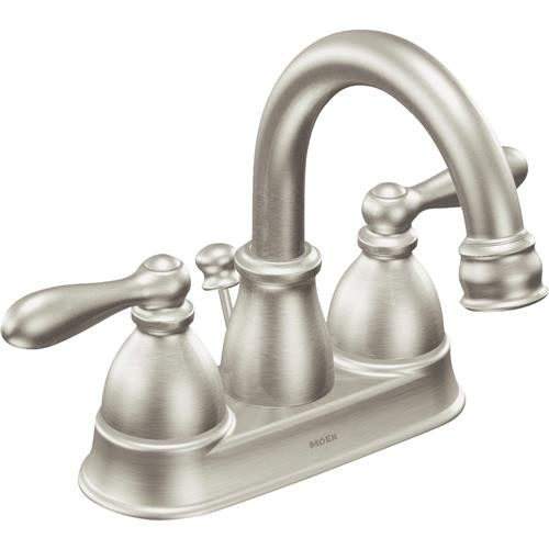 Moen Inc Moen Caldwell 2-Handle 4 In. Bathroom Faucet With Pop-Up