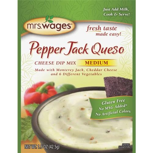 Mrs. Wages Mrs. Wages Pepper Jack Queso Cheese Dip Mix