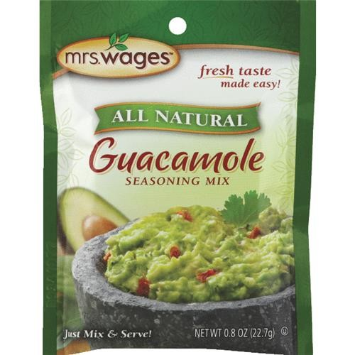 Mrs. Wages Mrs. Wages Guacamole Seasoning Mix