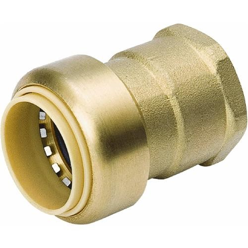 Mueller/B & K Brass Push Fit x FPT Adapter