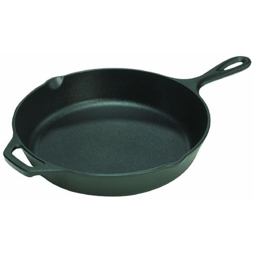 Lodge Mfg Co Cast-Iron Skillet With Assist Handle
