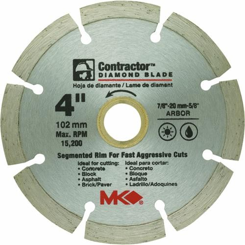 M.K. Diamond Prod. Segmented Rim Dry Cut Diamond Blade