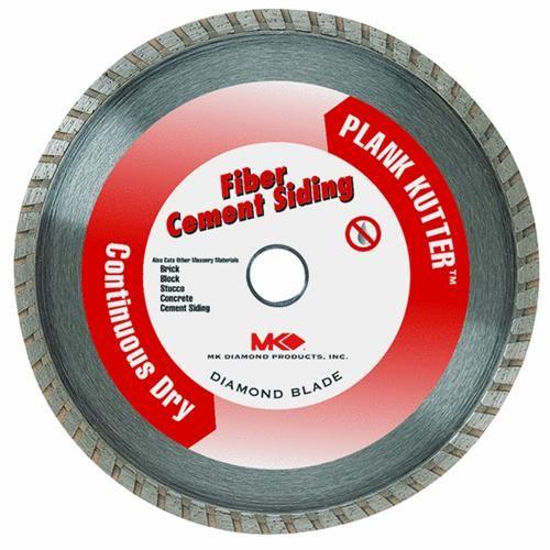 M.K. Diamond Prod. Plank Kutter Dry Cut Turbo Rim Fiber Cement Blade