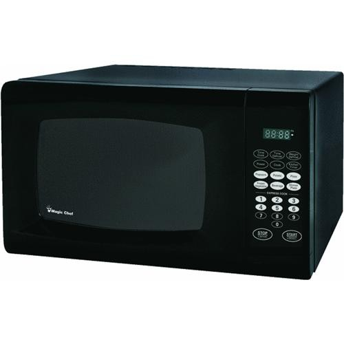 Magic Chef Magic Chef 0.9 Cu Ft Black Microwave