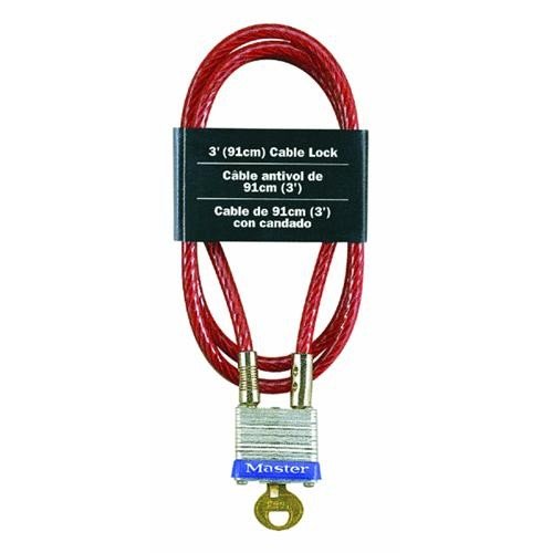 Master Lock Padlock Cable