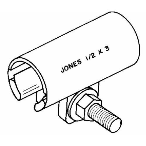 Jones Stephens Corp. Stainless Steel Repair Clamp