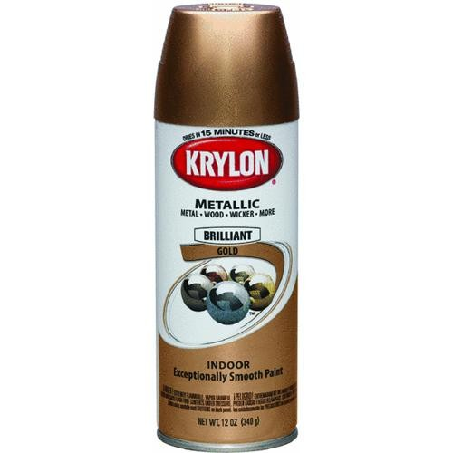 Krylon/Consumer Div Krylon ColorMaster Indoor Metallic Spray Paint
