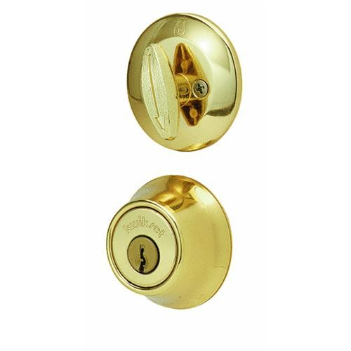 Kwikset Adjustable Latch Single Cylinder Deadbolt