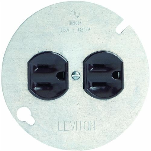Leviton Outlet With Cover