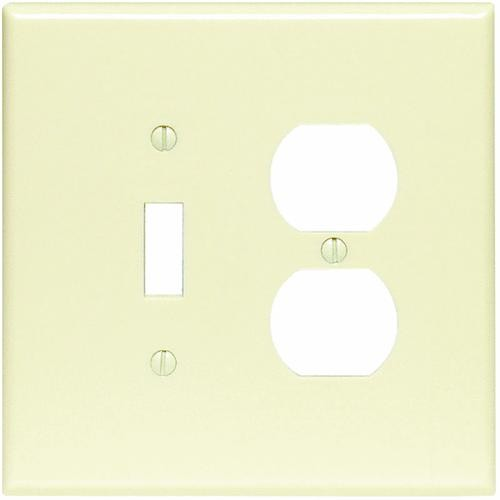 Leviton Plastic Oversized Combination Wall plate