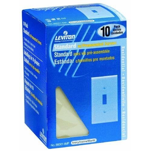 Leviton 10-Pack Switch Wall Plate
