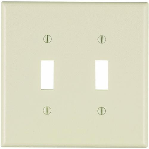 Leviton Double Mid-Way Switch Wall Plate