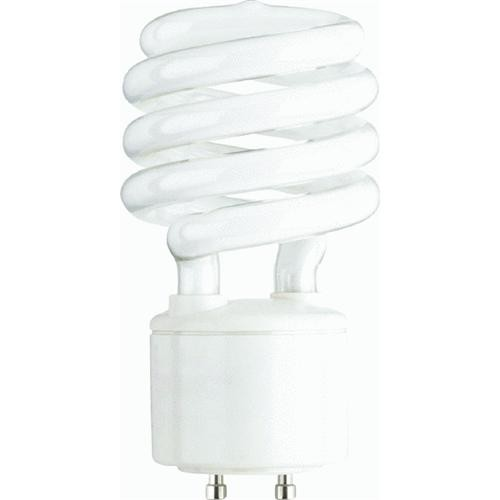 SATCO PRODUCTS, INC. Satco T2 Spiral GU24 CFL Light Bulb