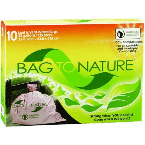 Indaco Manufacturing Bag-To-Nature Compostable Lawn And Yard Bag