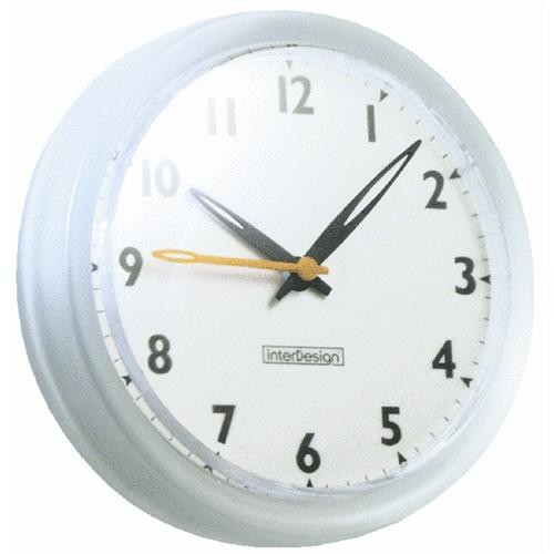 Interdesign Forma Suction Shower Wall Clock