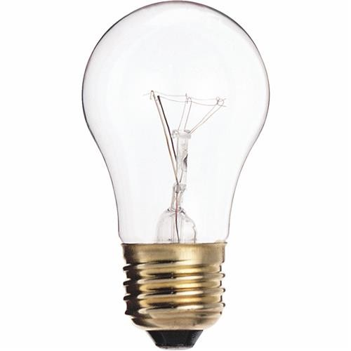 SATCO PRODUCTS, INC. Satco Medium A15 Incandescent Ceiling Fan Light Bulb