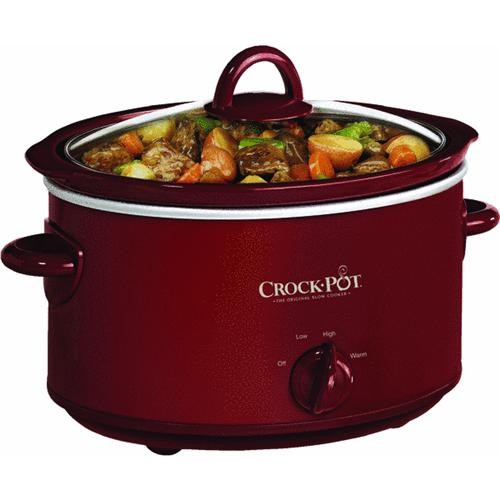 Jarden Consumer Solutions Rival 4 Quart Crock-Pot Slow Cooker
