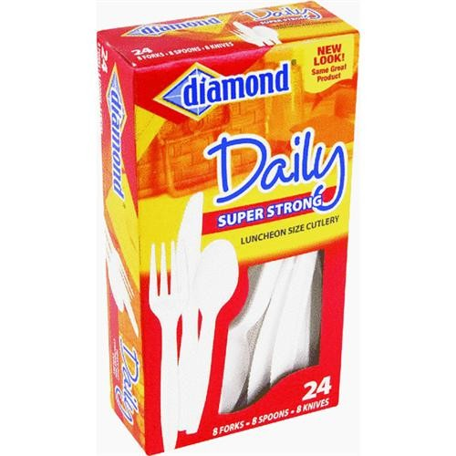 Jarden Home Brands Heavy-duty Plastic Cutlery Set