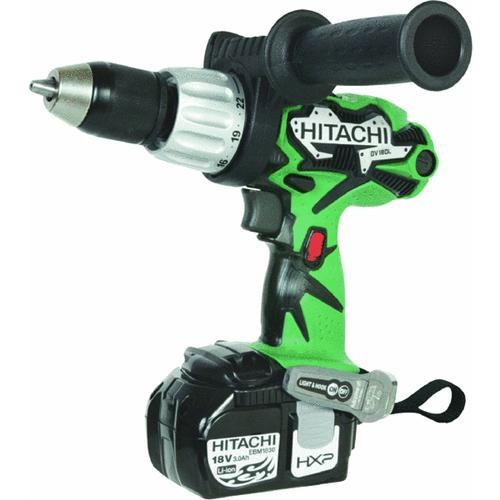 Hitachi Power Tools Hitachi 18V Lithium-Ion Cordless Hammer Drill Kit