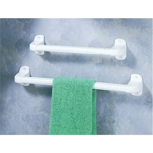Homz Products/Bath Plastic Towel Bar